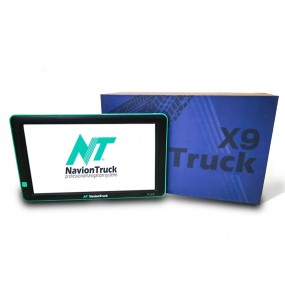 Navion X9 Truck - GPS for Truck with Dashcam and 9 Inches